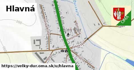 ilustrácia k Hlavná, Veľký Ďur - 1,62km
