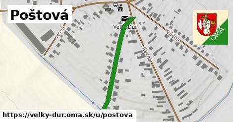 ilustrácia k Poštová, Veľký Ďur - 311m
