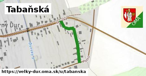 ilustrácia k Tabaňská, Veľký Ďur - 271m