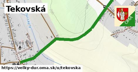 ilustrácia k Tekovská, Veľký Ďur - 1,31km