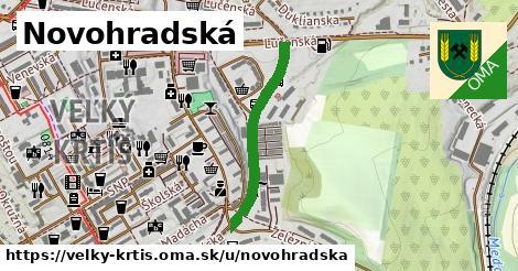 ilustrácia k Novohradská, Veľký Krtíš - 579m