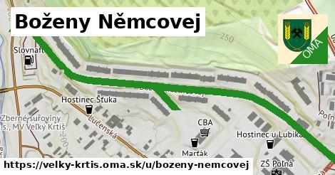 ilustrácia k Boženy Němcovej, Veľký Krtíš - 0,93km