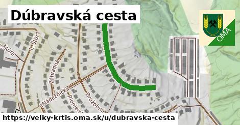 ilustrácia k Dúbravská cesta, Veľký Krtíš - 385m