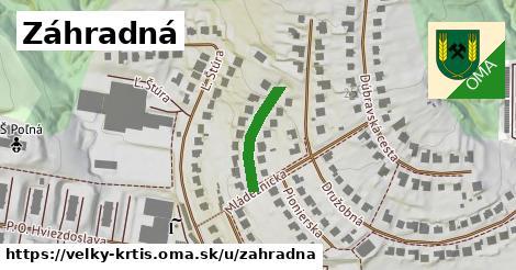 ilustrácia k Záhradná, Veľký Krtíš - 162m