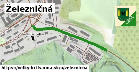 ilustrácia k Železničná, Veľký Krtíš - 437m