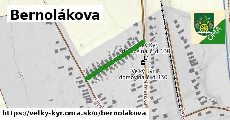 ilustrácia k Bernolákova, Veľký Kýr - 232m