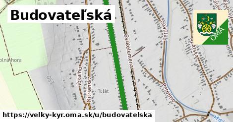 ilustrácia k Budovateľská, Veľký Kýr - 1,05km