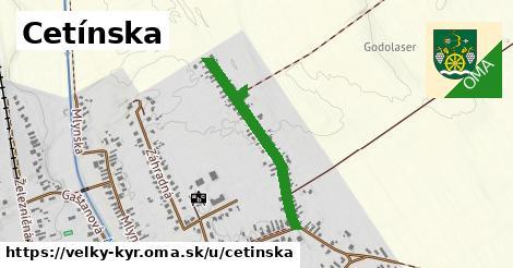 ilustračný obrázok k Cetínska, Veľký Kýr