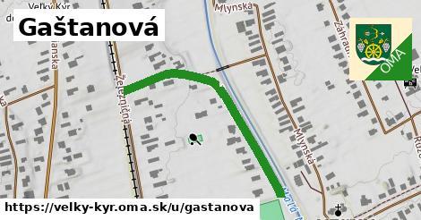 ilustrácia k Gaštanová, Veľký Kýr - 205m