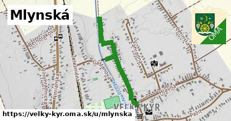ilustrácia k Mlynská, Veľký Kýr - 0,91km