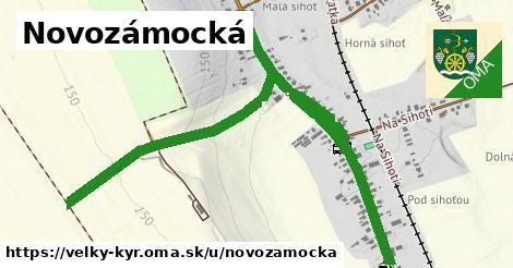 ilustrácia k Novozámocká, Veľký Kýr - 1,86km