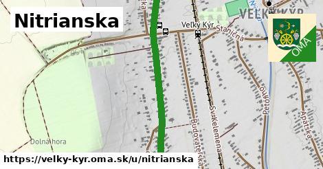 ilustrácia k Nitrianska, Veľký Kýr - 1,84km