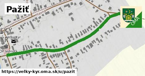 ilustrácia k Pažiť, Veľký Kýr - 0,74km