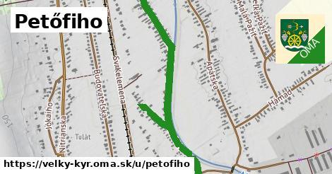 ilustrácia k Petőfiho, Veľký Kýr - 1,11km