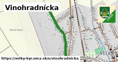 ilustrácia k Vinohradnícka, Veľký Kýr - 0,79km