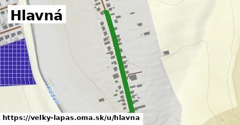 ilustrácia k Hlavná, Veľký Lapáš - 341m