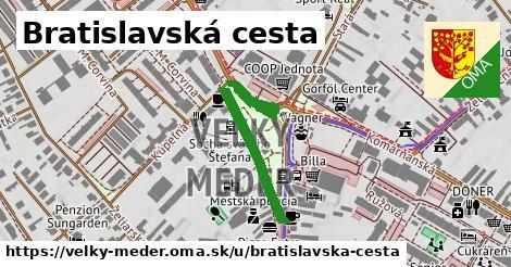 ilustrácia k Bratislavská cesta, Veľký Meder - 3,2km
