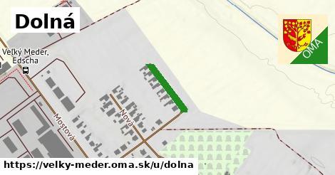 ilustrácia k Dolná, Veľký Meder - 134m
