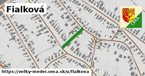 ilustrácia k Fialková, Veľký Meder - 145m