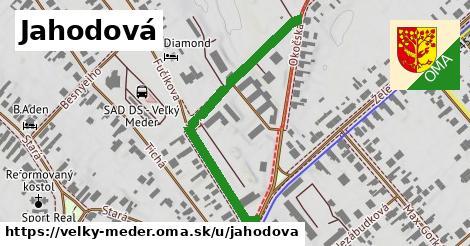 ilustrácia k Jahodová, Veľký Meder - 480m
