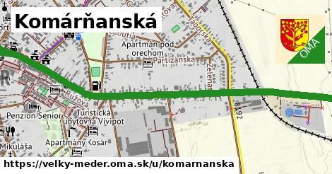 ilustračný obrázok k Komárňanská, Veľký Meder