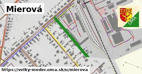 ilustrácia k Mierová, Veľký Meder - 276m