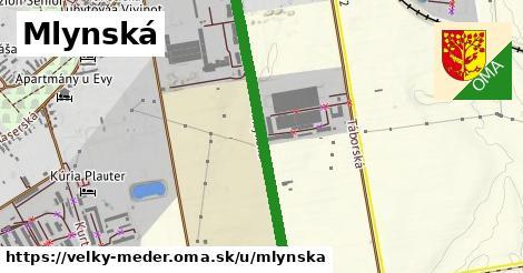 ilustrácia k Mlynská, Veľký Meder - 0,99km
