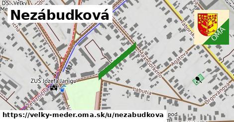 ilustrácia k Nezábudková, Veľký Meder - 157m