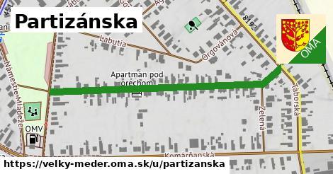 ilustrácia k Partizánska, Veľký Meder - 538m