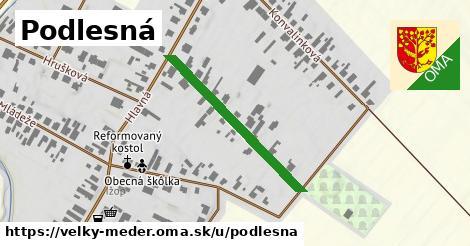 ilustrácia k Podlesná, Veľký Meder - 303m