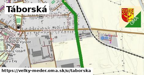 ilustrácia k Táborská, Veľký Meder - 1,72km