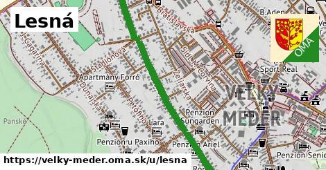 ilustrácia k Lesná, Veľký Meder - 1,15km