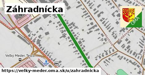 ilustrácia k Záhradnícka, Veľký Meder - 395m