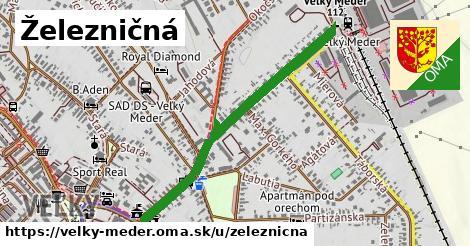 ilustrácia k Železničná, Veľký Meder - 0,93km