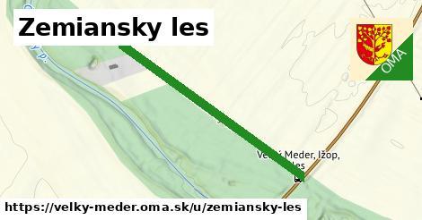 ilustrácia k Zemiansky les, Veľký Meder - 548m