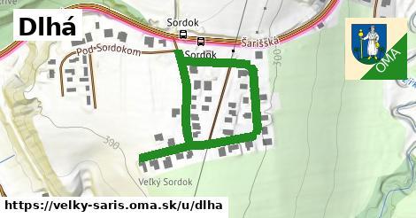 ilustrácia k Dlhá, Veľký Šariš - 610m