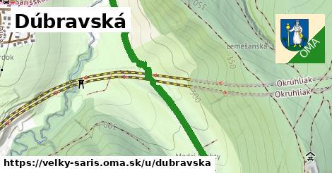 ilustrácia k Dúbravská, Veľký Šariš - 1,71km