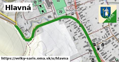 ilustrácia k Hlavná, Veľký Šariš - 0,76km