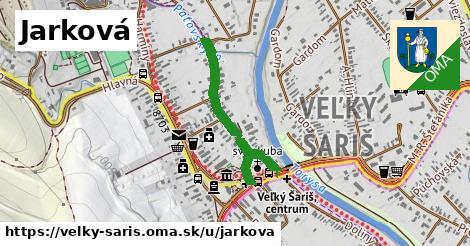ilustrácia k Jarková, Veľký Šariš - 616m