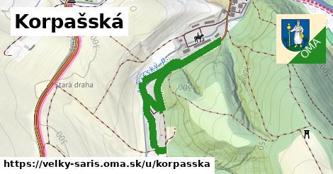ilustrácia k Korpašská, Veľký Šariš - 0,82km