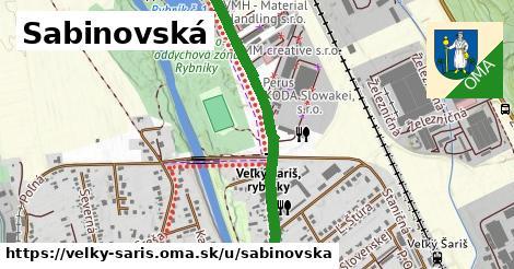 ilustrácia k Sabinovská, Veľký Šariš - 1,27km