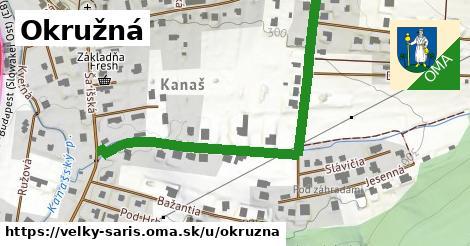 ilustrácia k Okružná, Veľký Šariš - 0,79km