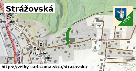 ilustrácia k Strážovská, Veľký Šariš - 295m