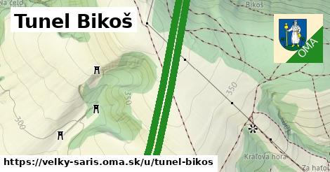 ilustrácia k Tunel Bikoš, Veľký Šariš - 2,3km