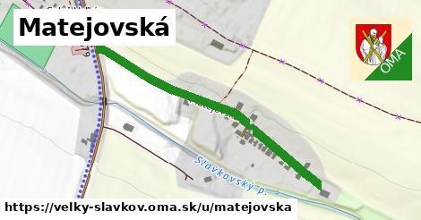 ilustrácia k Matejovská, Veľký Slavkov - 450m