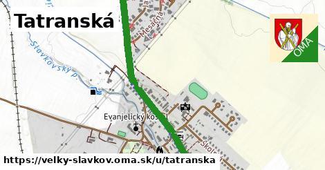 ilustrácia k Tatranská, Veľký Slavkov - 2,2km
