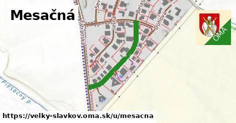 ilustrácia k Mesačná, Veľký Slavkov - 280m