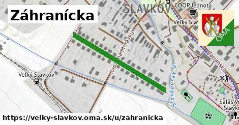 ilustrácia k Záhranícka, Veľký Slavkov - 333m
