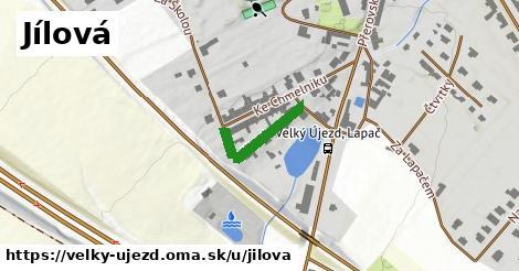 ilustrácia k Jílová, Velký Újezd - 166m