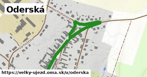ilustrácia k Oderská, Velký Újezd - 665m
